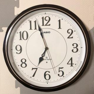 カシオ(CASIO)のカシオ 電波時計 掛け時計(掛時計/柱時計)