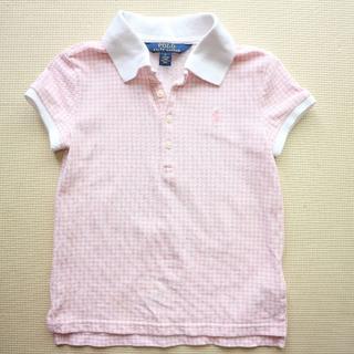 POLO RALPH LAUREN - POLOラルフローレン/120cm 半袖ポロシャツ/女の子/Tシャツ