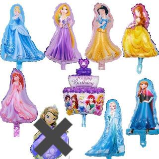 ディズニー(Disney)の☆☆ プリンセスバルーン☆ミニプリンセス☆バルーン☆風船☆8ピースセット(その他)
