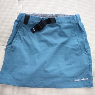 mont bell - 美品 モンベル110cm/軽量ストレッチスカート/mont-bell