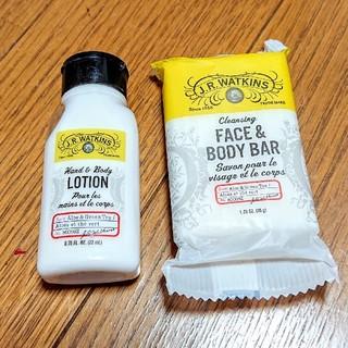 ロクシタン(L'OCCITANE)の新品 J. R. Watkins ボディーローション 石鹸 セット(ボディローション/ミルク)