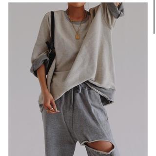 felim トップス Tシャツ スエット zara(Tシャツ(半袖/袖なし))
