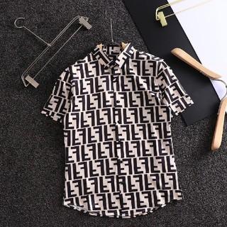 FENDI - 夏コーデFendiフェンデイシャツ 半袖 メンズ