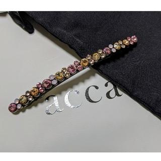 acca - 新品☆アッカ ベリーバレッタ 店舗限定カラー Rose