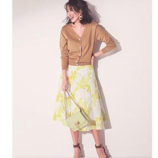 ジャスグリッティー(JUSGLITTY)の新品 ジャスグリッティー フラワー刺繍フレアスカート(ロングスカート)