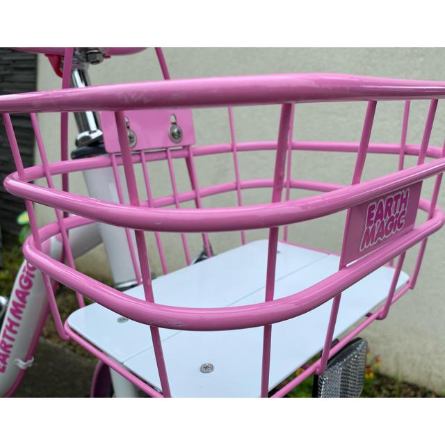EARTHMAGIC(アースマジック)のアースマジック自転車16インチ キッズ/ベビー/マタニティの外出/移動用品(自転車)の商品写真