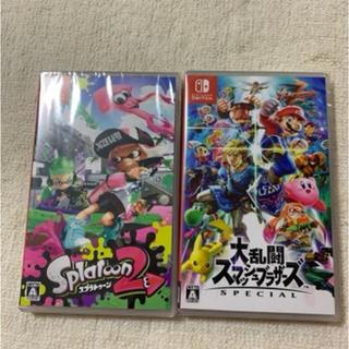Nintendo Switch - スプラトゥーン2 スマブラ
