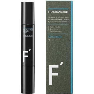 F'(エフダッシュ) フレグランショット シトラスムスクの香り   メンズ 香水(香水(男性用))