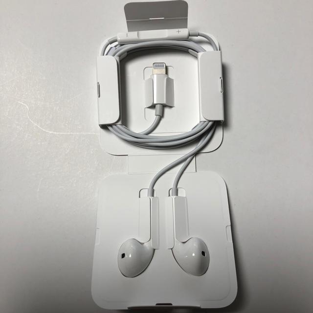 Apple(アップル)のiPhone 純正 イヤホン スマホ/家電/カメラのオーディオ機器(ヘッドフォン/イヤフォン)の商品写真