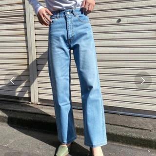 OZOC - 【新品】OZOC デニム  ストレートパンツ