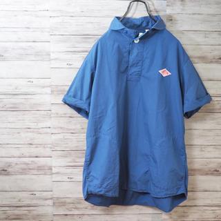 ダントン(DANTON)のDANTON ラウンドカラー プルオーバー半袖シャツ(シャツ)