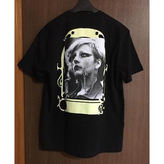 ラフシモンズ(RAF SIMONS)のS新品 RAF SIMONS Punkette Tシャツ ラフシモンズ ブラック(Tシャツ/カットソー(半袖/袖なし))
