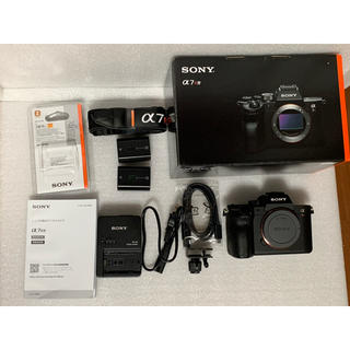 SONY - SONY ソニー α7r 4 ILCE-7RM4 純正予備電池付き