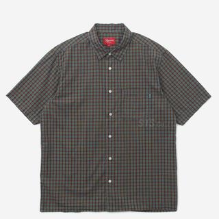 シュプリーム(Supreme)のSupreme - Plaid S/S Shirt Teal XL(シャツ)
