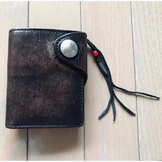 テンダーロイン(TENDERLOIN)の【牛革★早い者勝ち】財布 折りたたみ財布(折り財布)