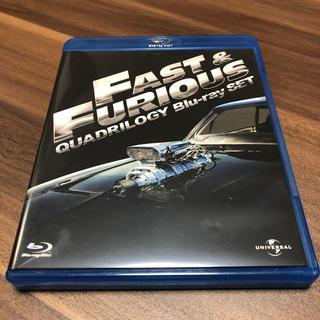 ユニバーサルエンターテインメント(UNIVERSAL ENTERTAINMENT)のワイルド・スピード クアドリロジーBlu-ray SET Blu-ray(外国映画)