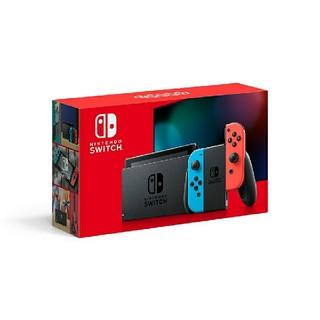 Nintendo Switch - 新品未開封 Nintendo Switch 本体 ネオンブルー ネオンレッド