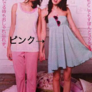ピーチジョン(PEACH JOHN)の☆PJ・ブルチェリパティベアワンピ☆(ルームウェア)