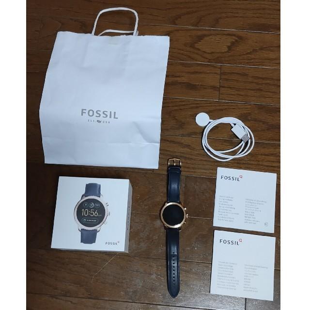 FOSSIL(フォッシル)のFOSSIL Q EXPLORISTスマートウォッチ USED メンズの時計(腕時計(デジタル))の商品写真