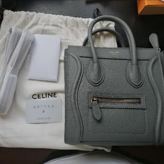 celine - 美品セリーヌceline  ラゲージ マイクロ