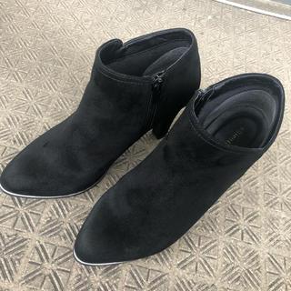 オリエンタルトラフィック(ORiental TRaffic)のショートブーツ 黒 23cm(ブーツ)