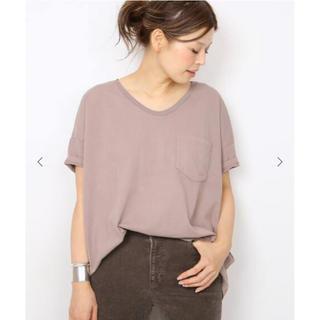 ドゥーズィエムクラス(DEUXIEME CLASSE)の新品!Deuxieme Classe 【SKARGORN】ポケツキワイドTシャツ(Tシャツ(半袖/袖なし))