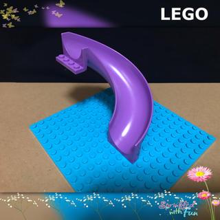 Lego - LEGO レゴフレンズ すべり台 1piece カーブ