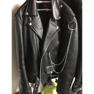 バレンシアガ(Balenciaga)のg-dragon着用 オーバーサイズライダース(ライダースジャケット)