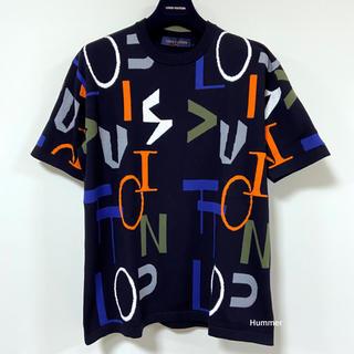 ルイヴィトン(LOUIS VUITTON)の国内正規品 極美品 ルイヴィトン 最新作 2020FW 半袖 Tシャツ ニット!(Tシャツ/カットソー(半袖/袖なし))