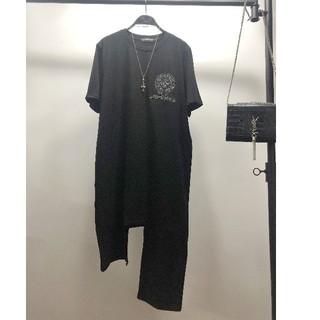 クロムハーツ(Chrome Hearts)の個性的Chrome Hearts クロムハーツ Tシャツ ブラック 男女兼用(Tシャツ/カットソー(半袖/袖なし))