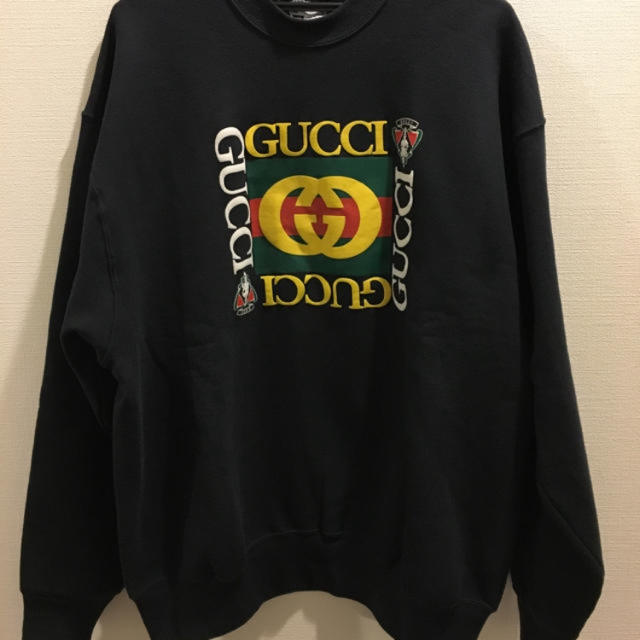 Gucci(グッチ)のグッチ ブート トレーナー gucci 緊急値下げ メンズのトップス(スウェット)の商品写真