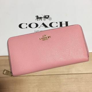 COACH - 新品 [COACH コーチ] 長財布 baby pink