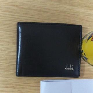 財布:ブラック 2つ折り[新品・未使用] (折り財布)