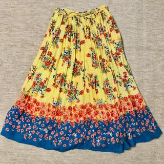 ビームスボーイ(BEAMS BOY)の【blanchechou】花柄ロングスカート(ロングスカート)