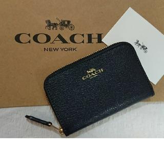 コーチ(COACH)のプレゼントに最適❗コーチ  コインケース  ブラック(コインケース)