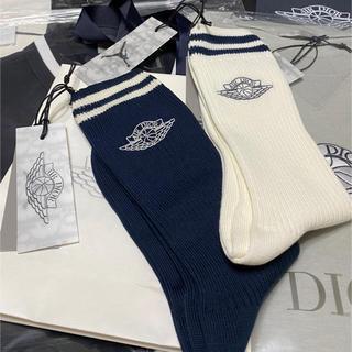 クリスチャンディオール(Christian Dior)のAIR DIOR Dior jordan 靴下 ソックス(その他)