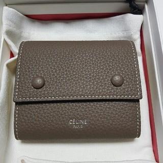 celine - 【新品未使用品】セリーヌ 財布 三つ折り 旧ロゴ