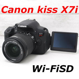 Canon - ❤️バッテリー2個付き❤️スマホ転送❤️Canon kiss X7i