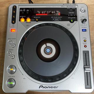 パイオニア(Pioneer)の【名機】Pioneer CDJ800mk2 09年製(CDJ)