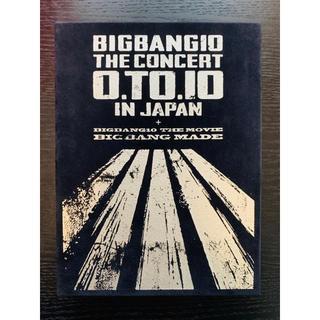 ビッグバン(BIGBANG)のBIGBANG10 THE CONCERT 0.TO.10 IN JAPAN(アイドル)