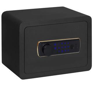 金庫 電子保管庫 暗証番号 隠れハンドル タッチパネル 壁付け対応 緊急キー付き(オフィス用品一般)