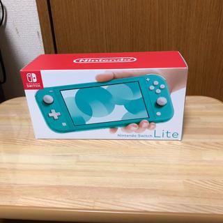 新品  Switch  Lite  ターコイズ