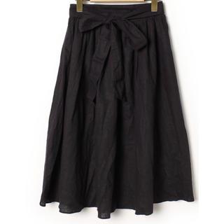 イエナスローブ(IENA SLOBE)のSLOBE IENA スローブイエナのリネンスカート(ロングスカート)