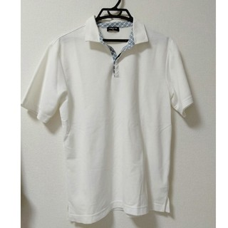 コムサイズム(COMME CA ISM)のコムサイズム ポロシャツ 白 L(ポロシャツ)