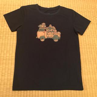 ザノースフェイス(THE NORTH FACE)のザノースフェイス★おしゃれデザインTシャツ130ネイビー(Tシャツ/カットソー)