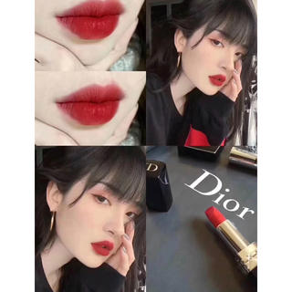 Dior - Dior ルージュディオール マット 999 口紅 リップカラー