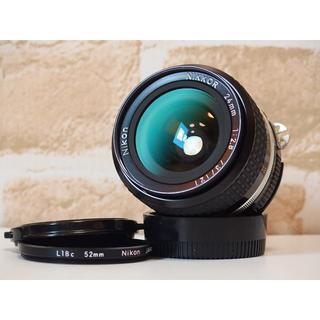 ニコン(Nikon)のNikon NIKKOR Ai-s 24mm F2.8 広角単焦点 フィルター付(レンズ(単焦点))