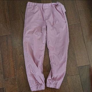 ユニクロ(UNIQLO)のユニクロ 暖パン パンツ ズボン130サイズウエストゴムピンクフリース(パンツ/スパッツ)