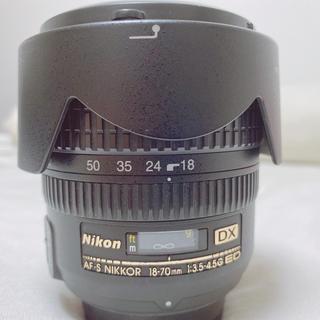 ニコン(Nikon)のNIKKOR AF-S 18-70mm F3.5-4.5(レンズ(ズーム))