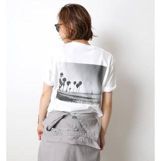 ドゥーズィエムクラス(DEUXIEME CLASSE)のドゥーズィエムクラス☆Photo T-shirt ホワイトA 新品(Tシャツ(半袖/袖なし))